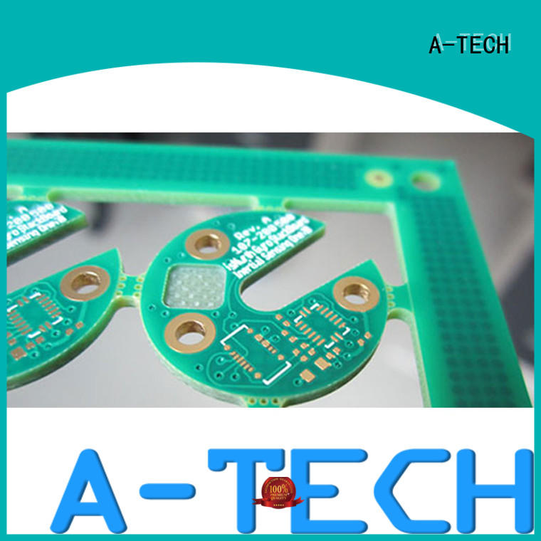 A-TECH buried edge plating pcb hot-sale at discount