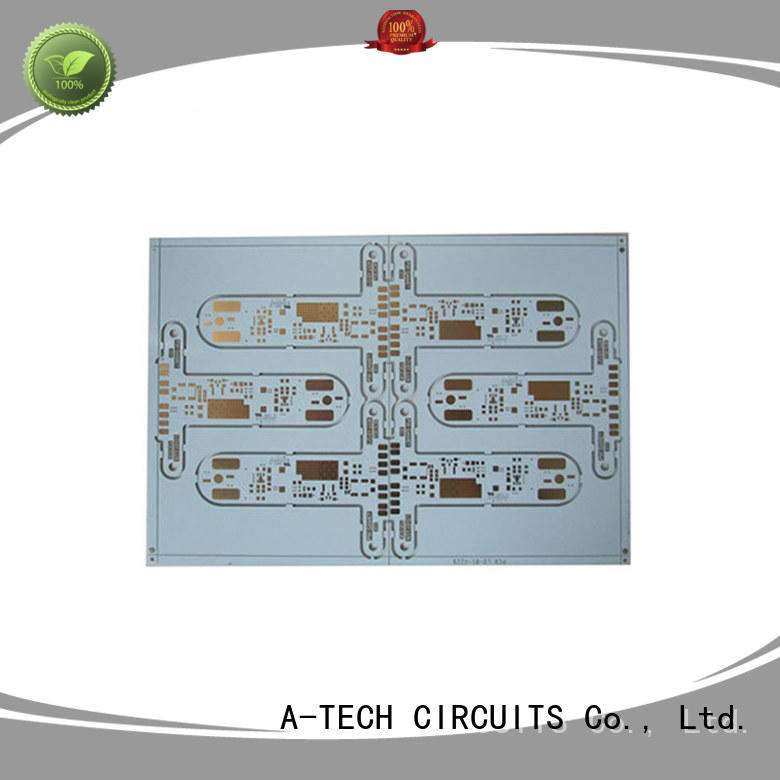 A-TECH metal core hdi pcb double sided for wholesale