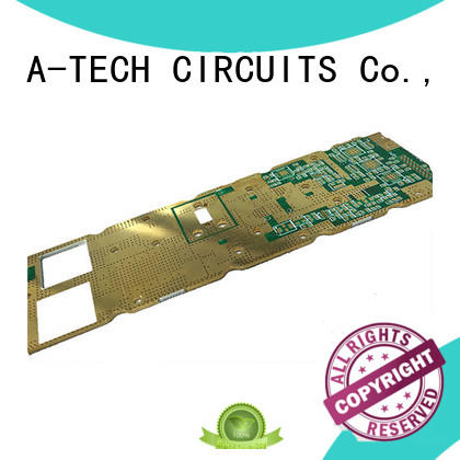 A-TECH quick turn double-sided PCB custom made for led