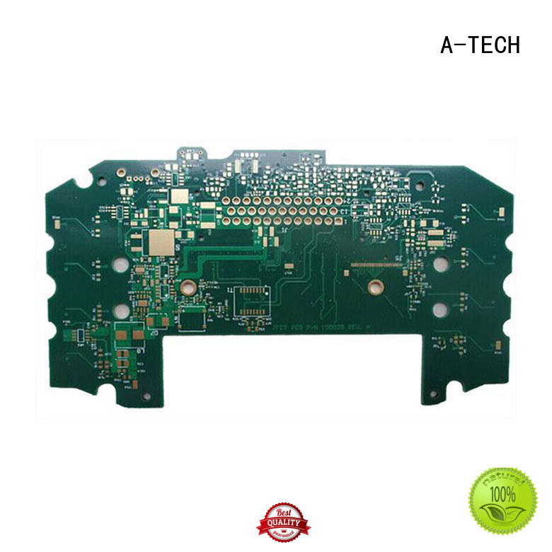 A-TECH aluminum quick turn pcb prototype top selling for led