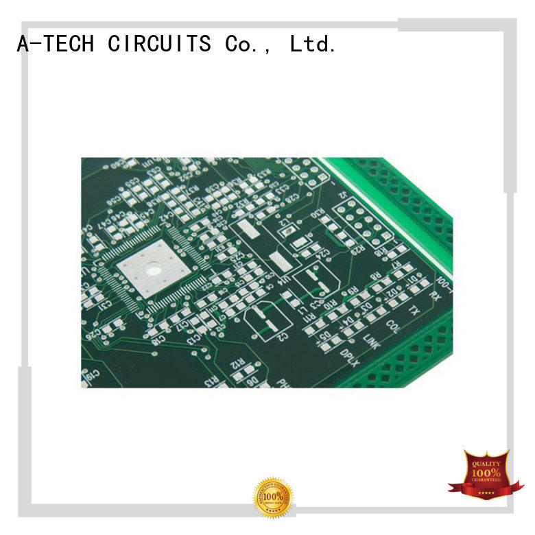 highly-rated hard gold pcb bulk production for wholesale A-TECH