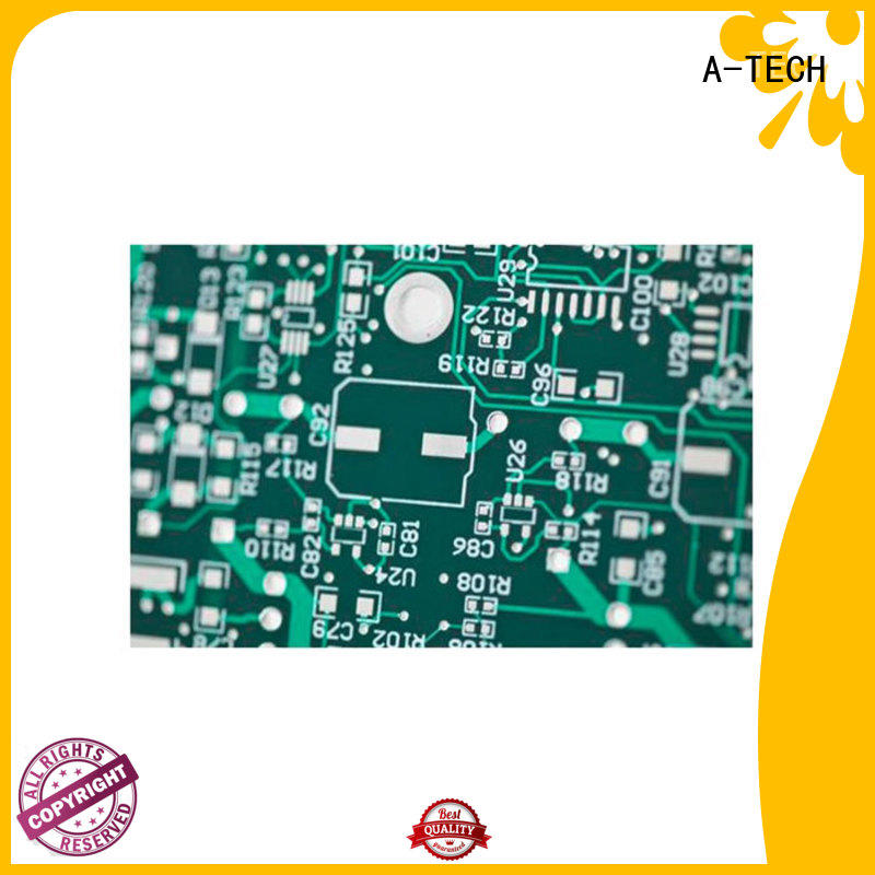 A-TECH gold plated hasl pcb bulk production for wholesale