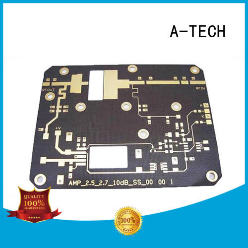 A-TECH microwave rigid flex pcb custom made at discount