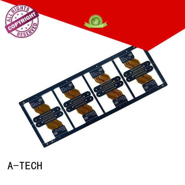 A-TECH flexible rigid flex pcb top selling for led