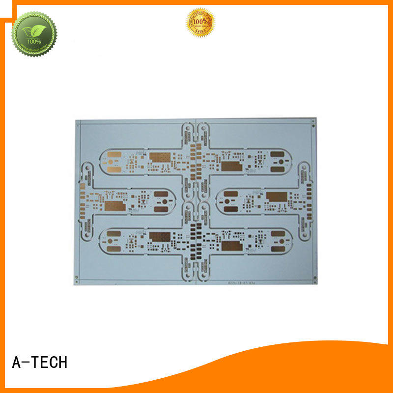 A-TECH microwave single-sided PCB custom made at discount