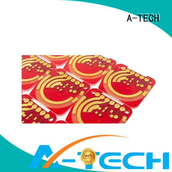 A-TECH tin peelable mask pcb free delivery for wholesale