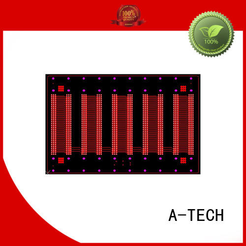 A-TECH hybrid edge plating pcb hot-sale for wholesale