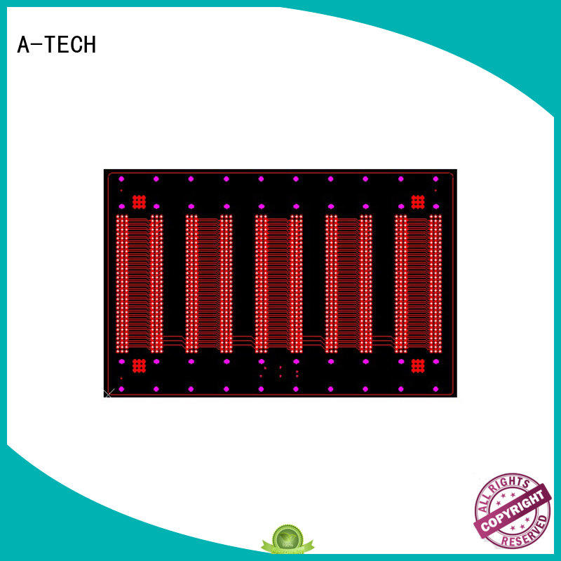 A-TECH routing vippo pcb best price top supplier