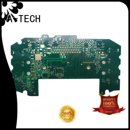 A-TECH metal core rigid flex pcb custom made for led