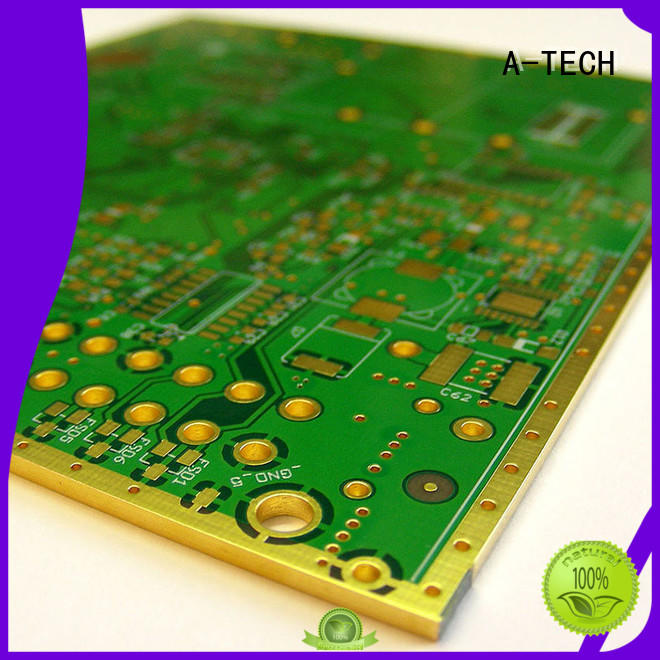 routing via in pad pcb plated durable top supplier
