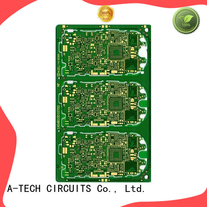 A-TECH quick turn rigid flex pcb double sided for led