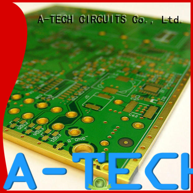 A-TECH plating edge plating pcb durable top supplier