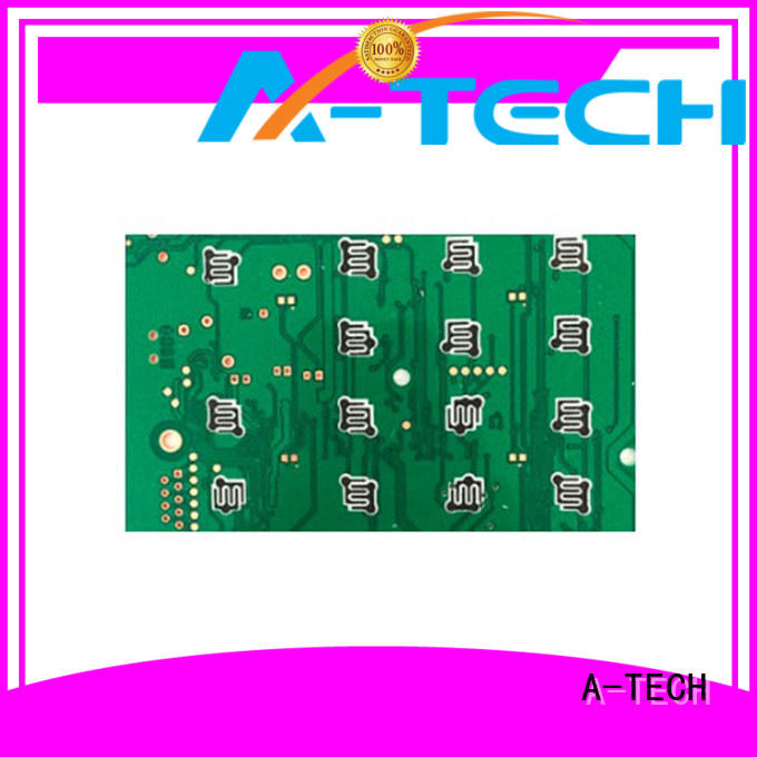 A-TECH gold plated immersion silver pcb free delivery for wholesale