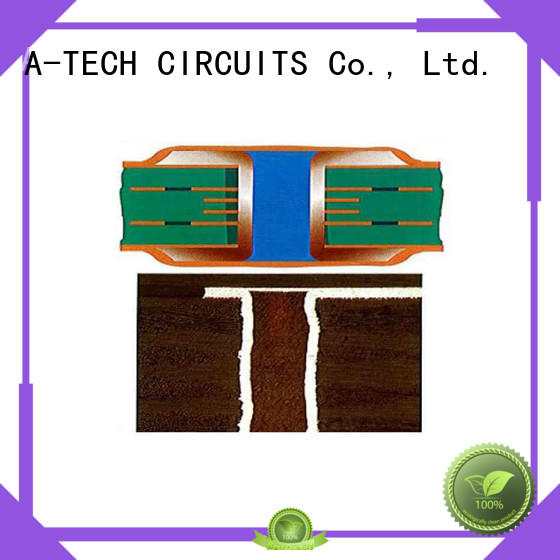 counter sink edge plating pcb press top supplier A-TECH