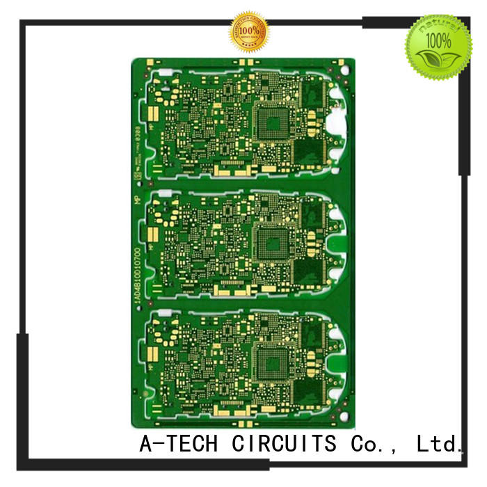 microwave quick turn pcb prototype single sided custom made for led