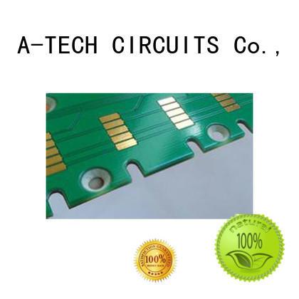 A-TECH half depth via in pad pcb durable for wholesale