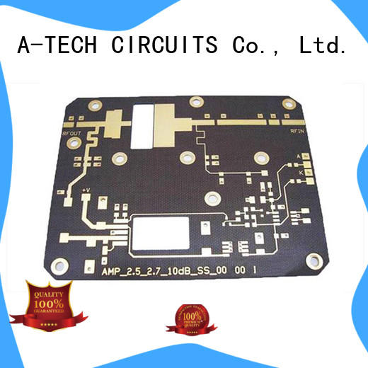 A-TECH aluminum double-sided PCB custom made for wholesale
