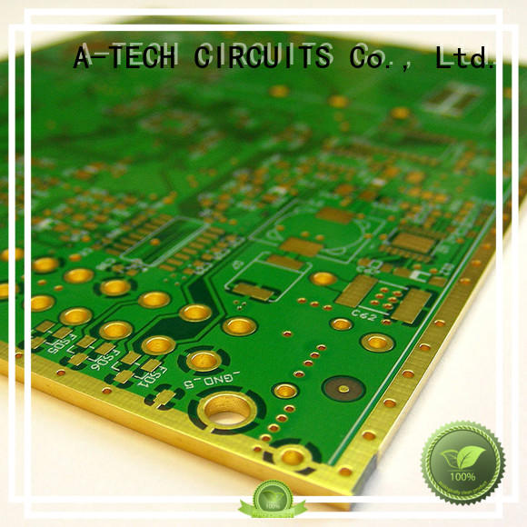 A-TECH impedance via in pad pcb best price top supplier