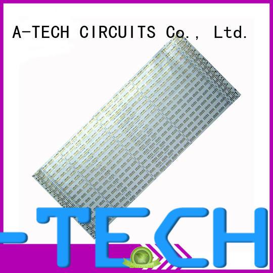 A-TECH microwave flex rigid pcb custom made for wholesale