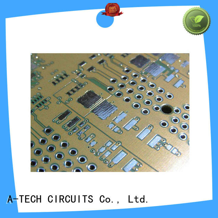 hard pcb gold plating cheapest factory price for wholesale A-TECH