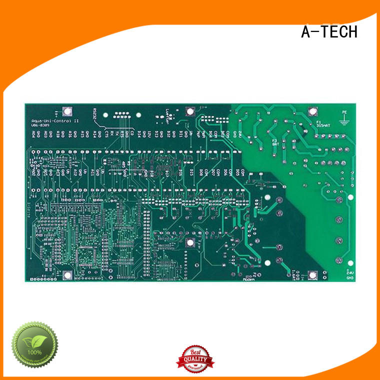 A-TECH aluminum microwave rf pcb double sided for led