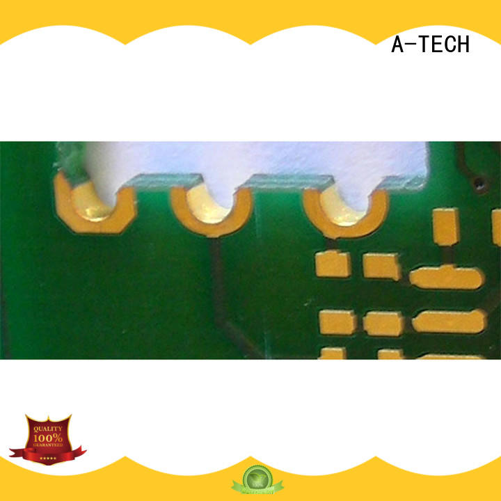 A-TECH counter sink via in pad pcb best price top supplier