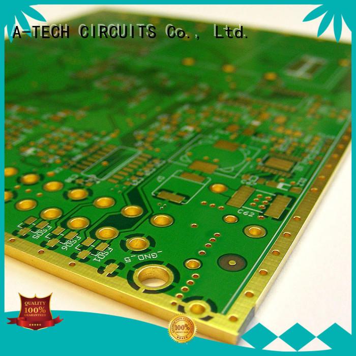 PCB edge plating