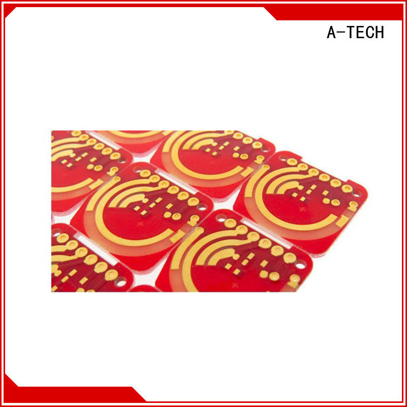 A-TECH gold plated peelable mask pcb cheapest factory price at discount