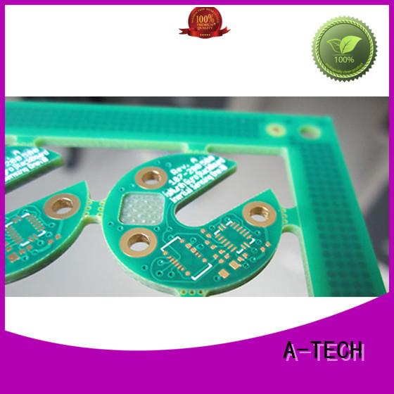 A-TECH hybrid edge plating pcb hot-sale top supplier