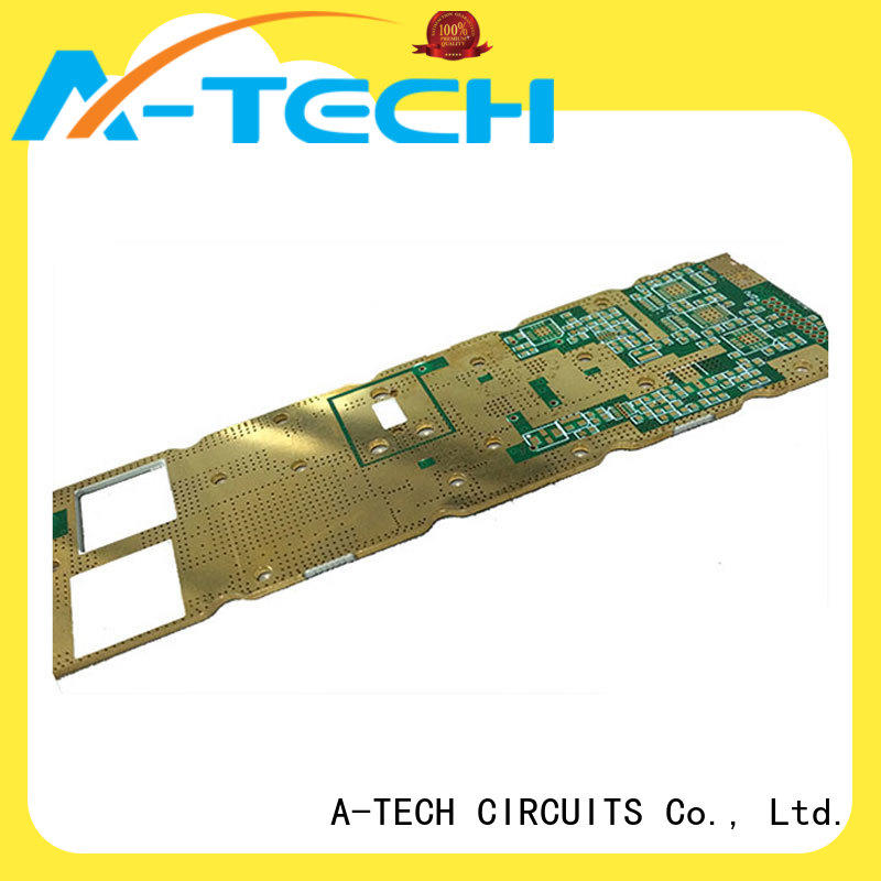A-TECH aluminum double-sided PCB custom made for led