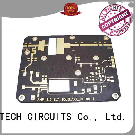 A-TECH single sided rigid flex pcb top selling for led