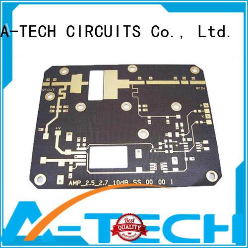 A-TECH rigid microwave rf pcb for wholesale
