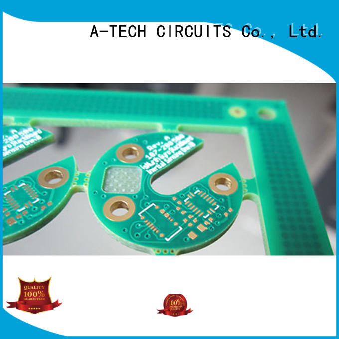 A-TECH counter sink via in pad pcb best price for sale