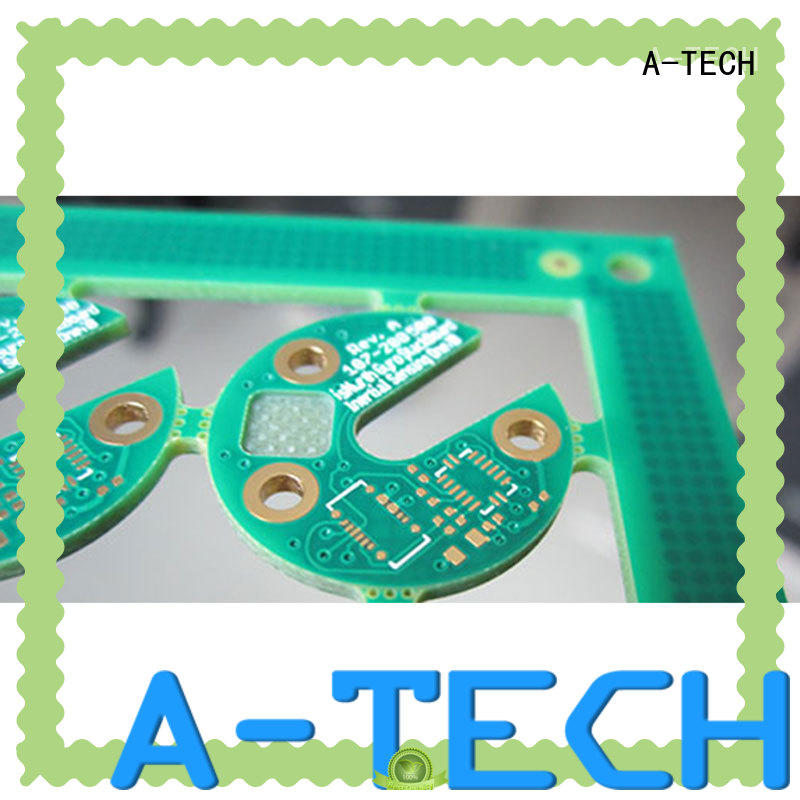 A-TECH free delivery edge plating pcb best price for wholesale