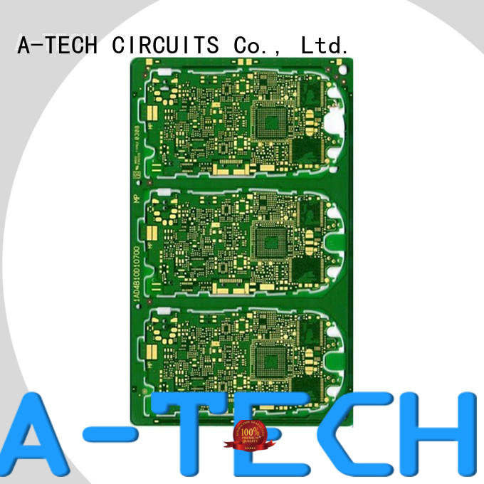 quick turn double-sided PCB rigid for led