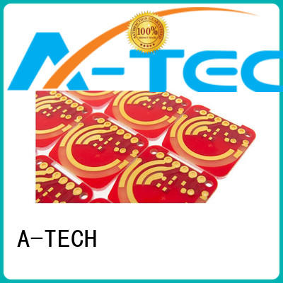 free silver coating pcb gold plated for wholesale A-TECH