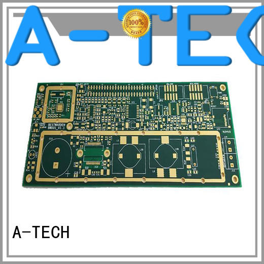 A-TECH quick turn rigid flex pcb double sided for wholesale