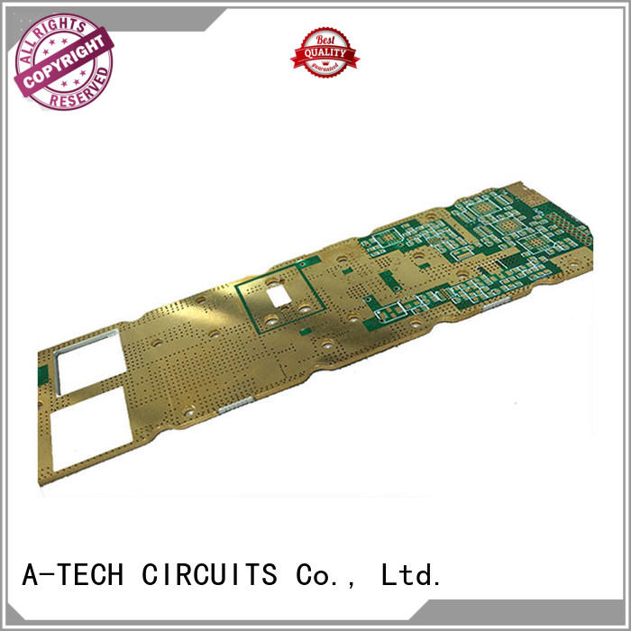A-TECH metal core double-sided PCB double sided for led