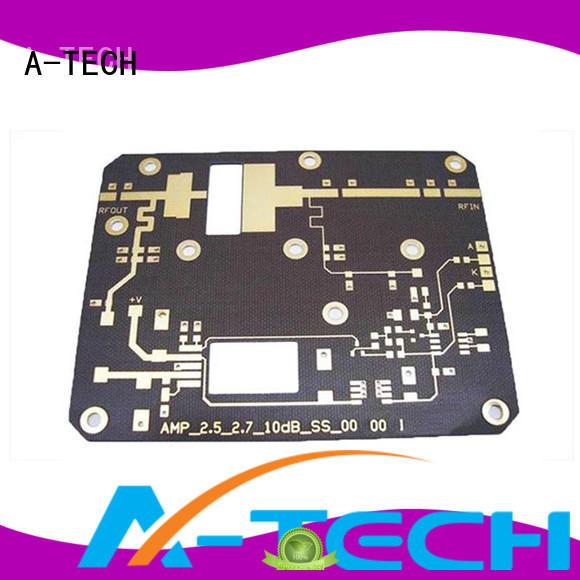 A-TECH single sided rigid flex pcb custom made at discount