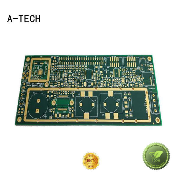 A-TECH rigid flex pcb custom made for led