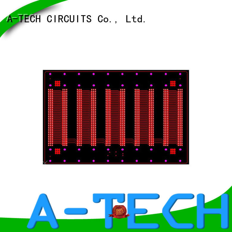 A-TECH free delivery via in pad pcb hot-sale top supplier