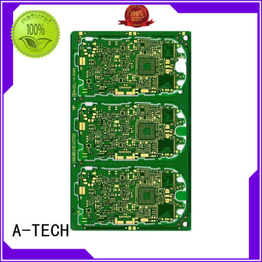 A-TECH quick turn rogers pcb custom made for wholesale