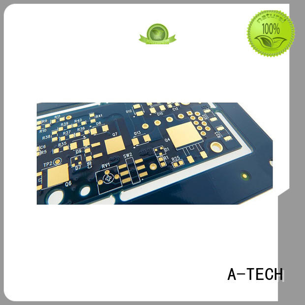 A-TECH gold plated peelable mask pcb bulk production at discount