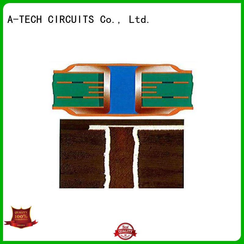 A-TECH blind via in pad pcb hot-sale for wholesale