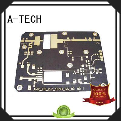 A-TECH microwave flexible pcb single sided