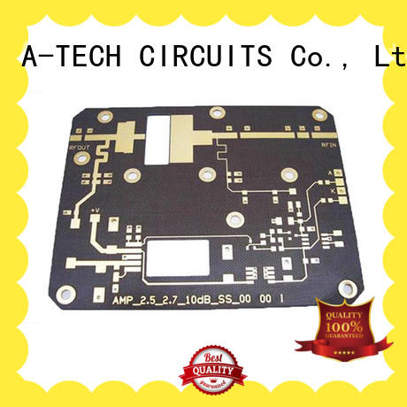 A-TECH rogers hdi pcb double sided for wholesale