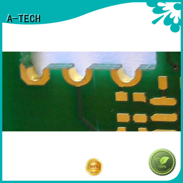 A-TECH free delivery edge plating pcb castellation hot-sale for wholesale