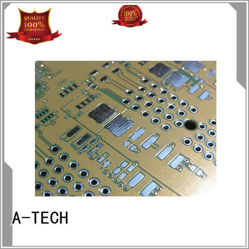 gold plated osp pcb finish bulk production for wholesale A-TECH