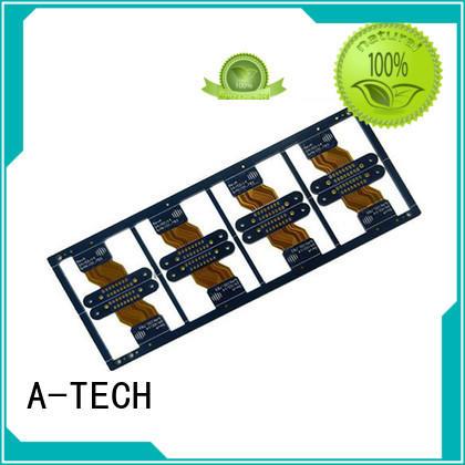 A-TECH metal core rigid flex pcb double sided for wholesale