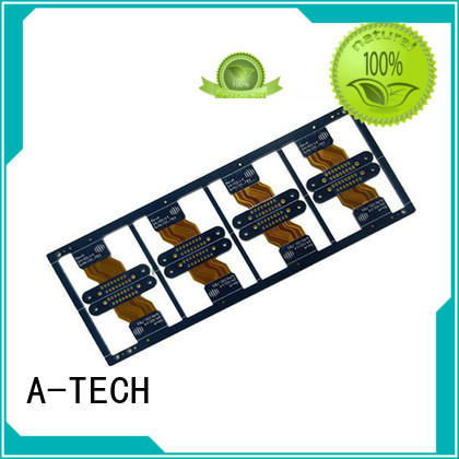 A-TECH single sided flexible pcb double sided